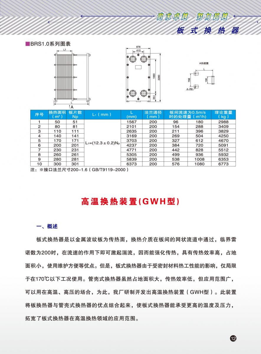 qq相册封皮_板式换热器样本_企业相册_四平市东方换热设备制造厂